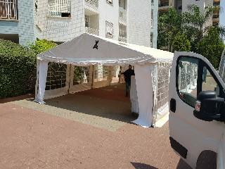 קניית אוהלי PVC