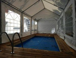 אוהלים לקירוי בריכה