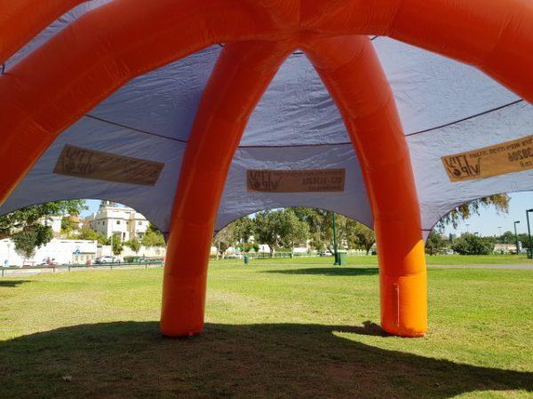 השכרת אוהלים מתנפחים